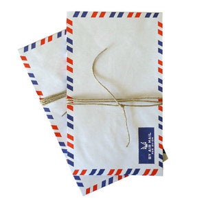 Image of Airmail Envelopes set of 10