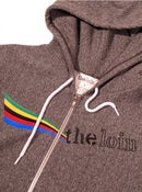 Image of victory zip hoody * peppered grey