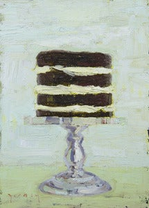 "Image of Tower Cake, Giclee Print, 5""x7"""