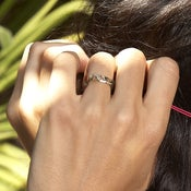Image of CHEAP but SO CHIC' bague dor ou argent