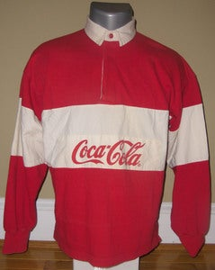 Image of 1980s Coca Cola Rugby