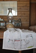 Image of &lt;i&gt;Mason Jar&lt;/i&gt; Tea Towel