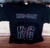 Image of Black King Giant Logo T-Shirt