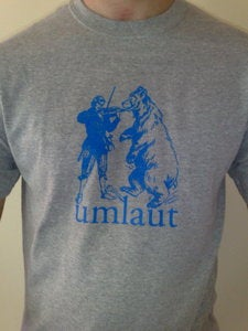 Image of Umlaut grey/blue tee