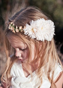 Image of SALLY- Flower Girl Halo