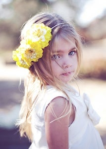 Image of OLIVIA - Flower Girl Halo