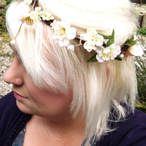 Image of Over the Picket Fence; a Floral Crown