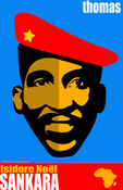Image of Thomas Sankara - &quot;Africa's Che&quot; Poster
