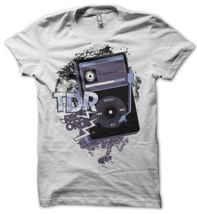 Image of TDR RECORDS&lt;br&gt;&lt;i&gt;Vinylpod&lt;/i&gt;&lt;br&gt;T-Shirt [ltd. 125]