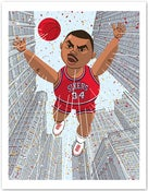 Image of Charles Barkley Print