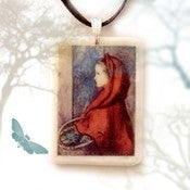 Image of Little Red Riding Hood Pendant
