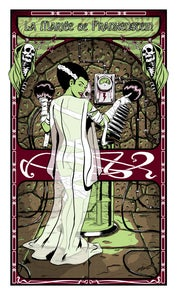 Image of The Bride of Frankenstein Silk Screened Print