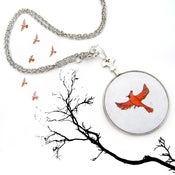 Image of The Legend of Sleepy Hollow Thaumatrope Necklace