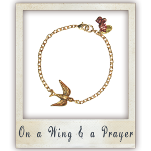 Image of On a Wing and a Prayer Bracelet