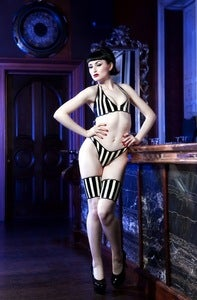 Image of Stripe thong