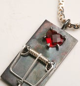 Image of Van Ness Wu - 3.V.0.7. Heart Mouse Trap Necklace