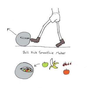Image of Ball kick smoothie maker
