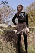 Image of Miss Patina 80s Inspired Jacquard Knit Jumper
