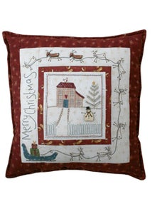 Image of Christmas Eve Pillow pattern