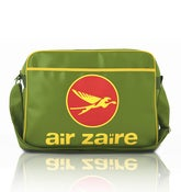 Image of AIR ZAIRE RETRO AIRLINE BAG (GREEN)