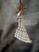 Image of Beaded Angel Ornament (Pack of 3) MX01003
