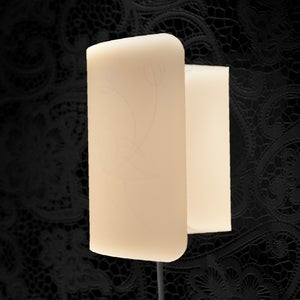 Image of Loopy Wall Light, Polar White