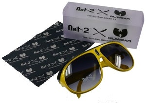Image of Nat-2 & Wu-Tang Eze yellow-black Limited Edition (W/M)