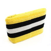 Image of Handmade Purse – Yellow Liquorice Lolly