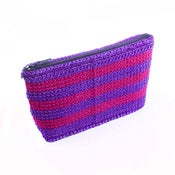 Image of Handmade Purse – Magenta & Purple