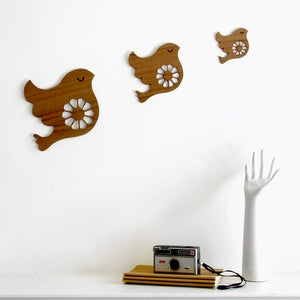 Image of Trio of Wall Birds {20% OFF + FREE SHIPPING}