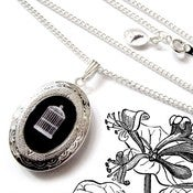 Image of The Empty Birdcage Locket