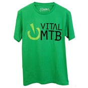 Image of Stack Logo T-Shirt, Green