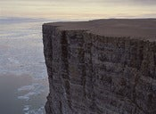 "Image of Photograph, 'Rookery Cliffs at the Edge of Lancaster Sound' 1994; ""ARCTIC"" Series"
