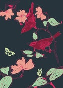 Image of Birds & Butterflies Print - Available in 2 sizes