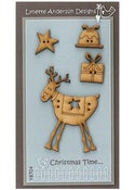 Image of Christmas Time button pack