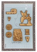 Image of Love to Sew button pack