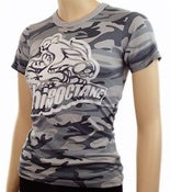 Image of Women's High On Octane Rabbit Camo T-Shirt