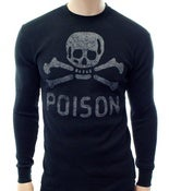Image of Men's Old School Poison Long Sleeve Thermal Shirt