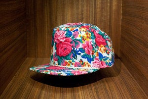Image of The JOYRICH x AMPAL FLOWERS Snap Back - White