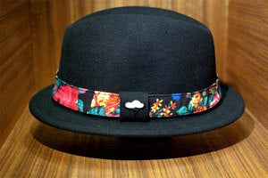 Image of The JOYRICH x AMPAL ALAMEDA Fedora - Black