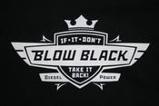 Image of If It Don't Blow Black Take It Back Graphic T Shirt