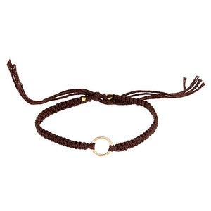 Image of Gold Karma Circle Friendship Bracelet