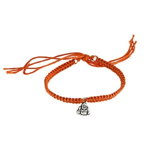 Image of Silver Buddha Friendship Bracelet