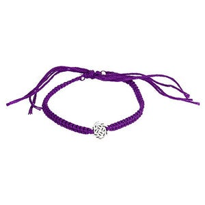 Image of Silver Celtic Knot Friendship Bracelet