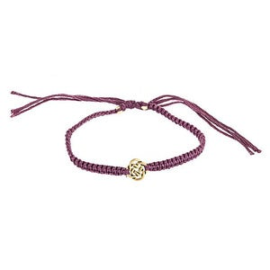 Image of Gold Celtic Knot Friendship Bracelet