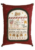 Image of Christmas Morning Pillow pattern