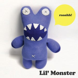 Image of Lil' Monster Pattern (PDF)