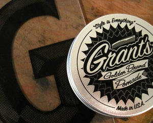 Image of TIN OF POMADE