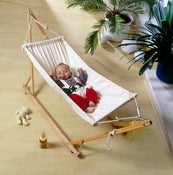 Image of AMAZONAS Koala portable baby hammock and stand
