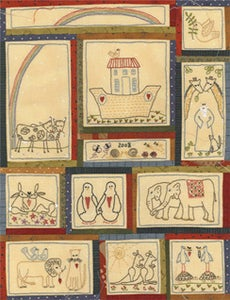 Image of Noah's Ark BOM download pattern